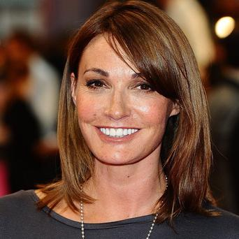 Sarah Parish has criticised The X Factor