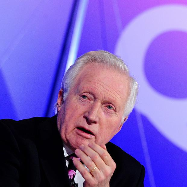 David Dimbleby decided he should stop being a wimp and get a real tattoo