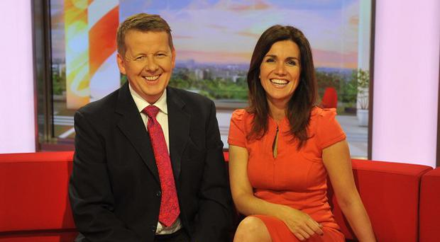 Susanna Reid welcomed Bill Turnbull back to the Breakfast sofa after his illness