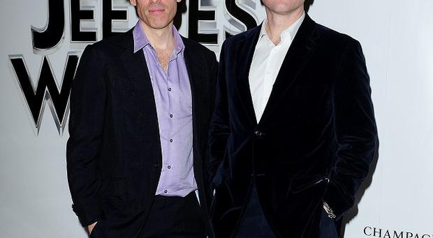 Stephen Mangan and Matthew MacFadyen, stars of the new Jeeves and Wooster stage play