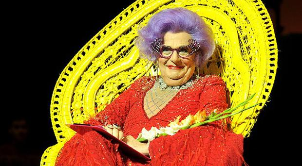 Dame Edna Everage is starring in Eat, Pray, Laugh at The London Palladium