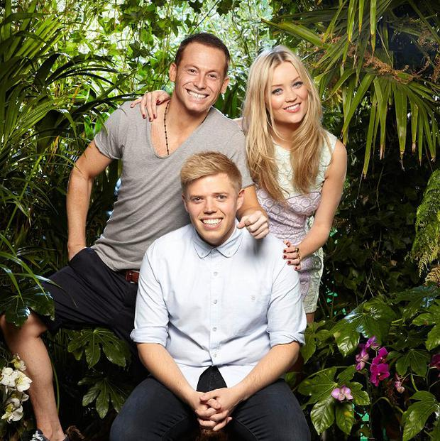 Laura Whitmore, Rob Beckett and Joe Swash are back for a new series of spin-off show I'm A Celebrity... Get Me Out Of Here! Now!