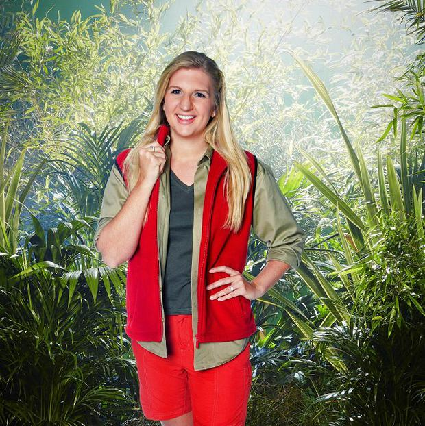Rebecca Adlington is one of the contestants on I'm A Celebrity...Get Me Out Of Here! this year