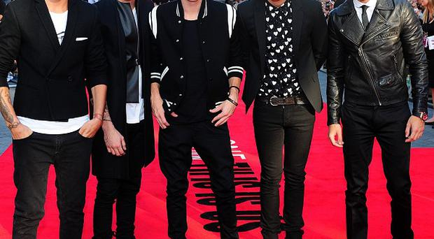 One Direction are among the stars helping raise funds for the victims of Typhoon Haiyan in the Philippines