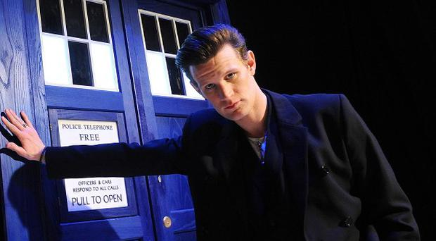 Matt Smith steps down from Doctor Who this year