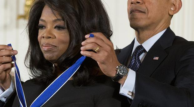 Oprah Winfrey was awarded the Presidential Medal of Freedom