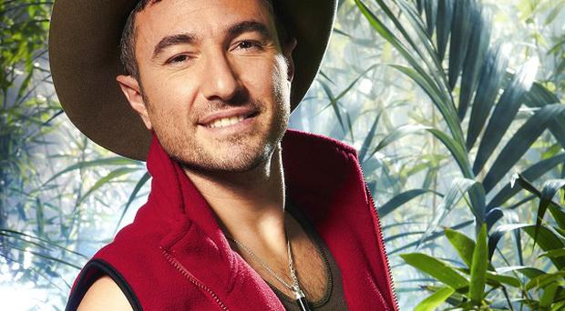 Vincent Simone is to enter the jungle with Annabel Giles