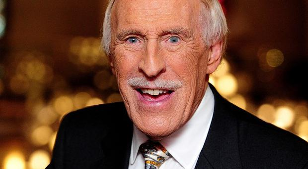 Sir Bruce Forsyth said he would not be retiring just yet