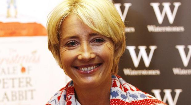 Emma Thompson criticised the 'terrible' pressure facing young actresses to look like they are models