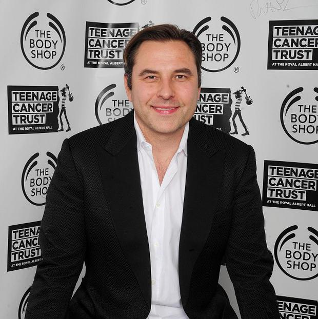 David Walliams and Miranda Hart were put through their paces with a few dance lessons for their forthcoming Christmas comedy