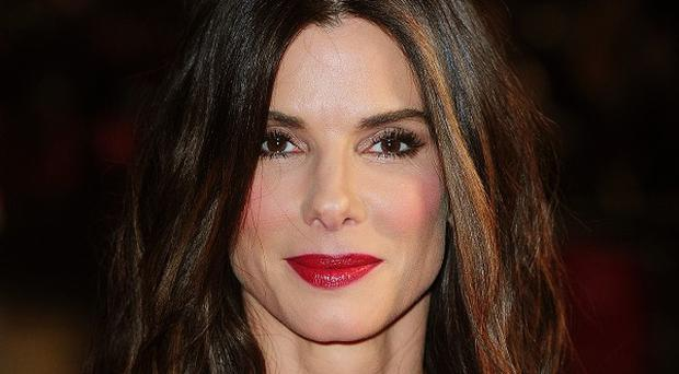 Sandra Bullock is happy being a single mum