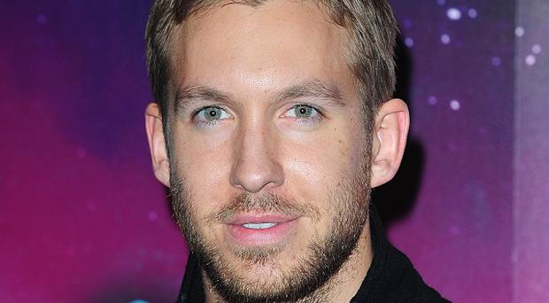Calvin Harris flew into London for Rita Ora's birthday bash