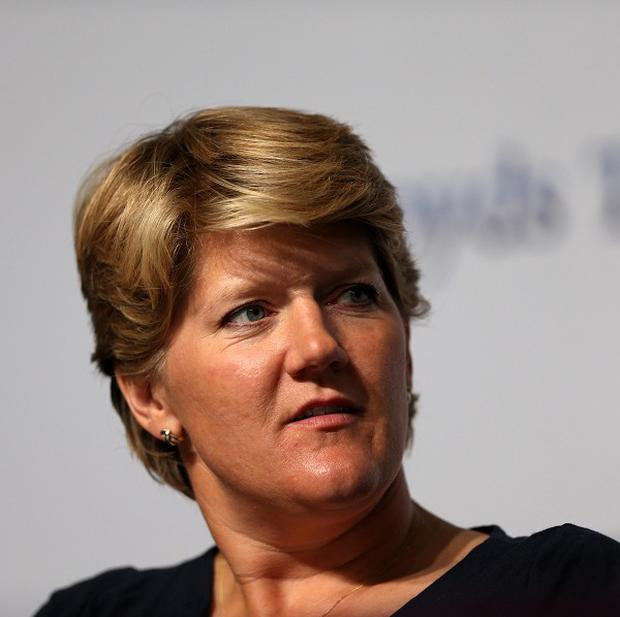 Clare Balding's grandmother told her she was