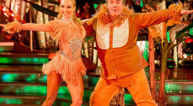 Mark Benton's samba to I Just Can't Wait To Be King from The Lion King failed to convince any of the judges that he should be saved