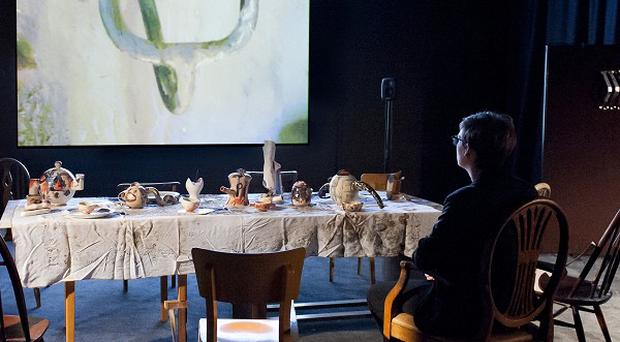 'Wantee' 2013 by Laure Prouvost has won the Turner Prize 2013 (PA/Tate)