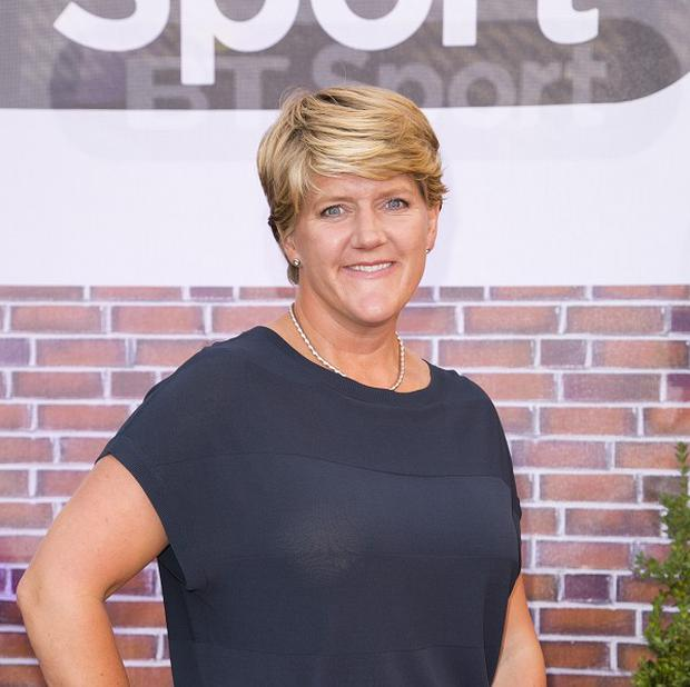 Clare Balding said her mother's remark prompted her to lose weight