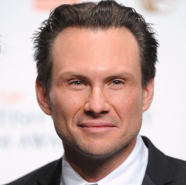 Christian Slater married his girlfriend Brittany Lopez in Florida