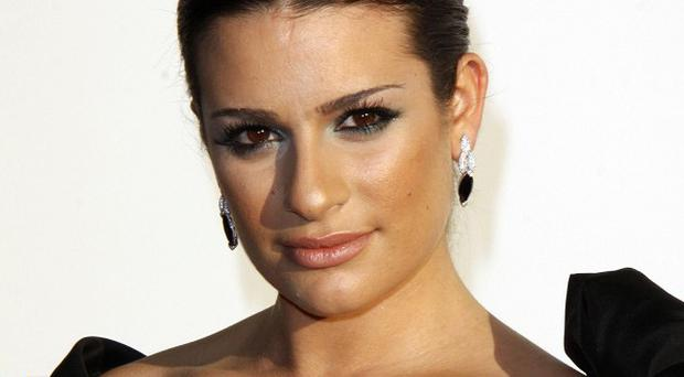 Lea Michele has told how she's been coping since the death of Cory Monteith