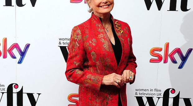 Angela Rippon was honoured at the Sky Women in Film and Television Awards