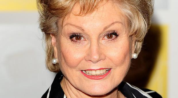 Angela Rippon was honoured for her TV work