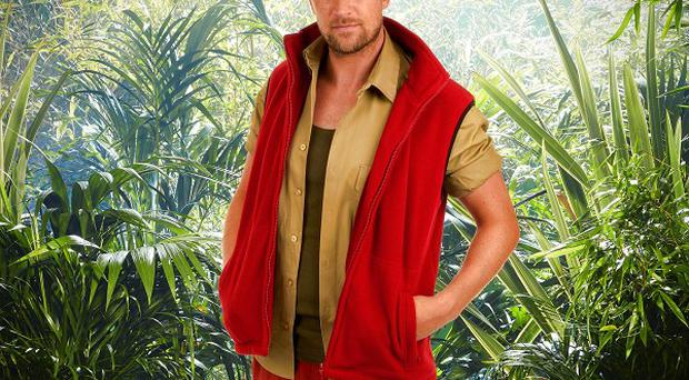 Singer Kian Egan is in the I'm A Celebrity...Get Me Out Of Here! final (ITV)