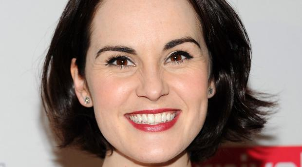 Michelle Dockery has been talking about the festive Downton Abbey storyline
