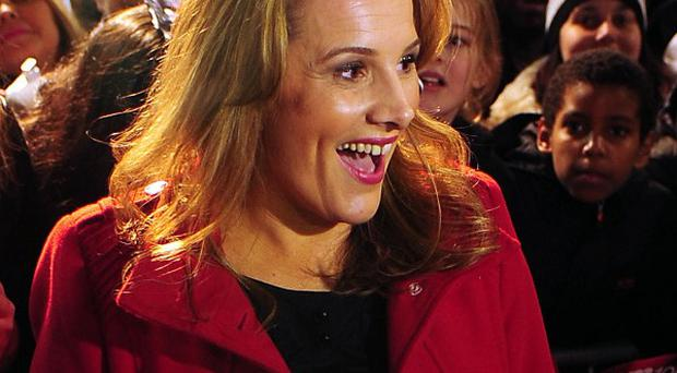 X Factor finalist Sam Bailey arrives for a homecoming gig at Athena, Leicester