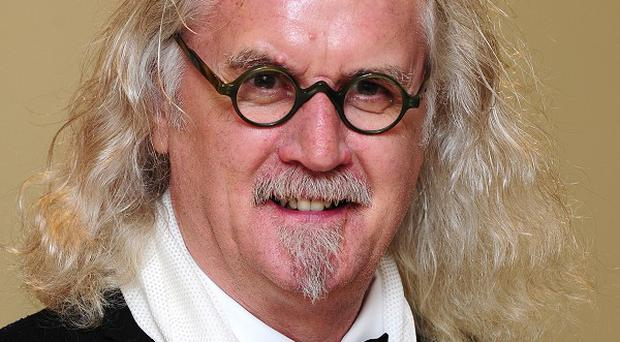 Billy Connolly has vowed to carry on performing