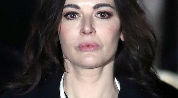 Nigella Lawson's former personal assistant has accused her of lying under oath