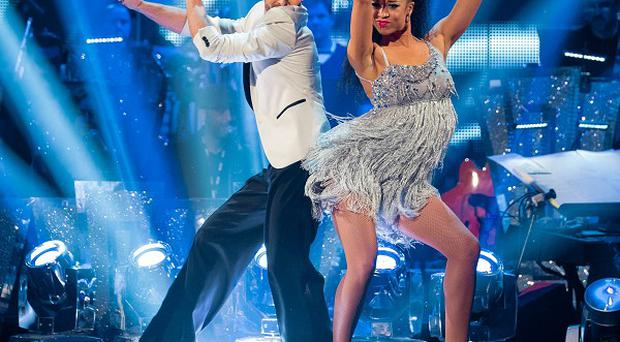 Natalie Gumede and Artem Chigvintsev received the joint best score of the Strictly Come Dancing semi-final.