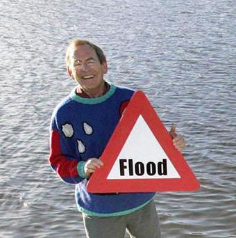 File photo dated 26/10/04 of weather presenter Fred Talbot who has been arrested for a second time by detectives investigating reports of historic sexual abuse.