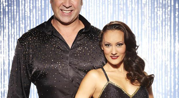 David Seaman has been paired with his off-screen partner Frankie Poultney for the final series of Dancing On Ice