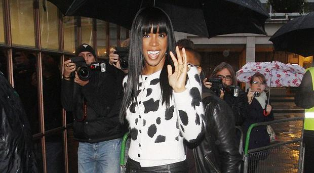 Kelly Rowland's fiance proposed on Skype