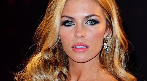 Abbey Clancy says she is struggling to cope with the gruelling rehearsal regime leading up to the Strictly final