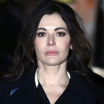 Nigella Lawson gave evidence in the court case