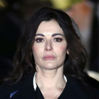 Nigella Lawson gave evidence during the court case