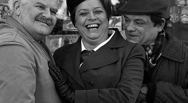 Lynda Baron and David Jason have reunited in Still Open All Hours, but missed the presence of the late Ronnie Barker on set