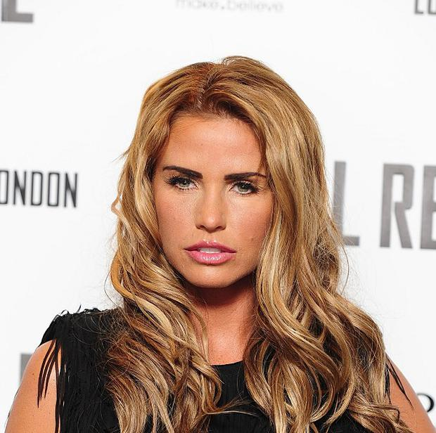 Katie Price has been in hospital with a mystery illness