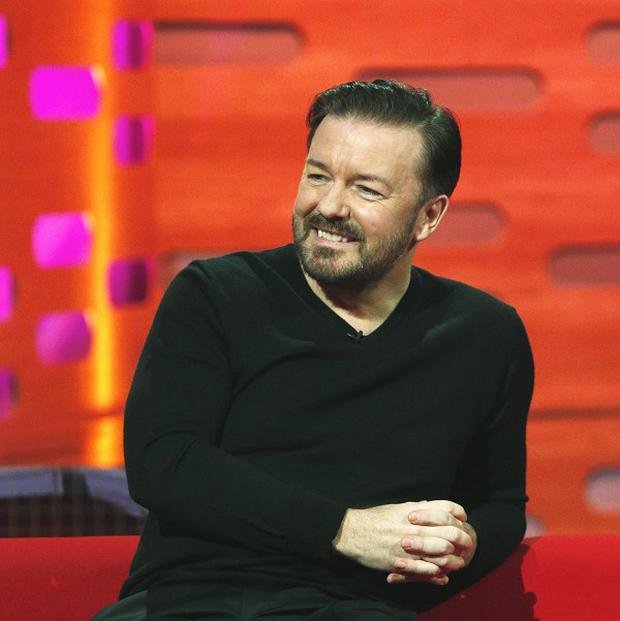 Ricky Gervais urges his Twitter followers to be kind to animals