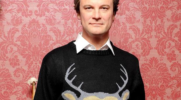 Colin Firth's waxwork is one of the Madame Tussauds figures to get an early Christmas gift