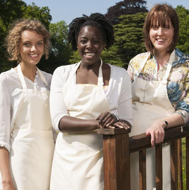 Kimberley Wilson, Ruby Tandoh and eventual winner Frances Quinn made The Great British Bake Off final