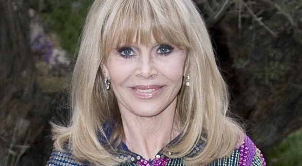 Britt Ekland has revealed her joy at becoming a grandmother at the age of 71