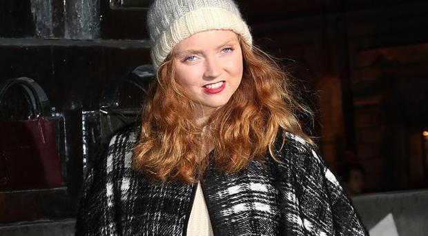 Lily Cole recently became a vegan