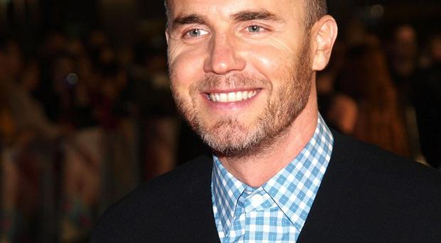 Gary Barlow came second to the fireworks display on New Year's Eve
