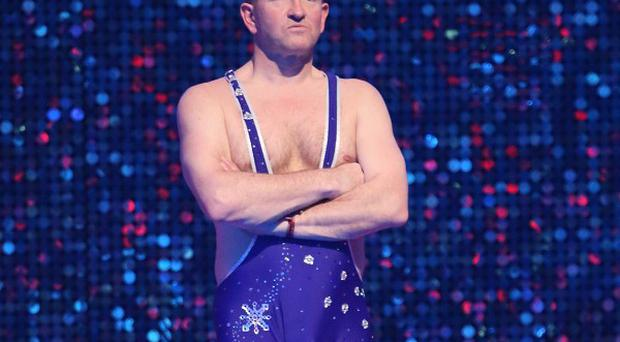 Eddie 'The Eagle' Edwards won Splash! last year
