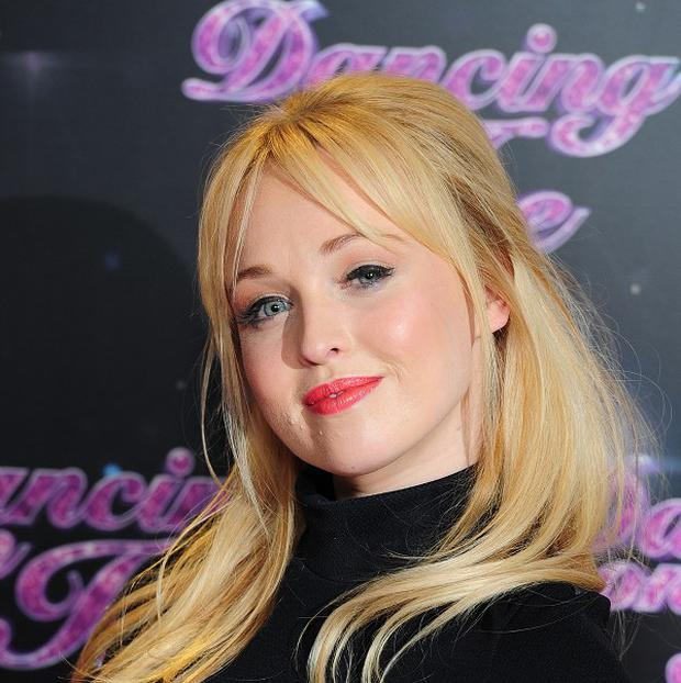 Jorgie Porter has been voted off Dancing On Ice