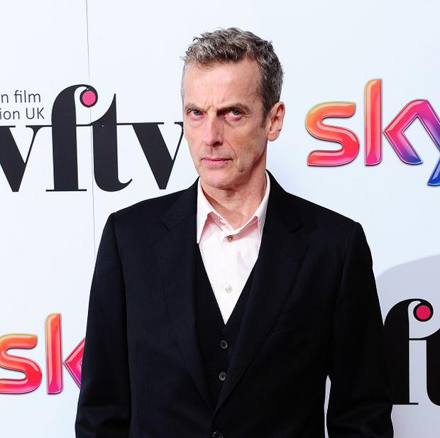 Peter Capaldi injured his thumb filming The Musketeers