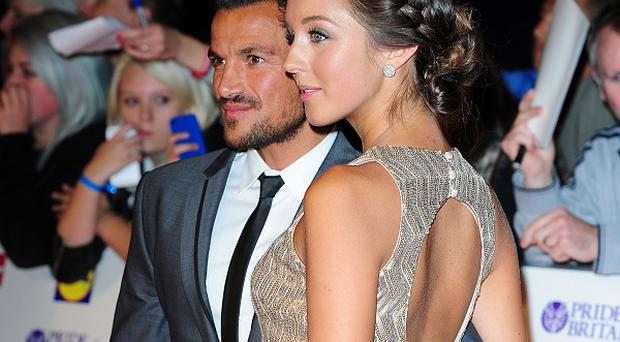 Has Peter Andre and Emily MacDonagh's baby arrived?