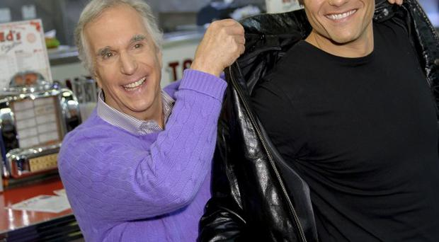 Henry Winkler played the Fonz in Happy Days