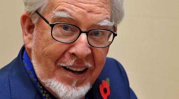 Rolf Harris has arrived at court